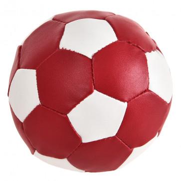 Chrisco Læderbold med pivelyd, Ø 11 cm