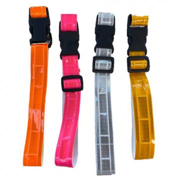Chrisco Clip refleksbånd, 24-38 cm