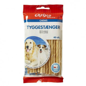 Chrisco Tyggestænger, 40 stk./140-160 g