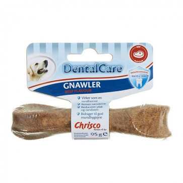 Chrisco DentalCare Gnawler Beef Flavour Small, 1 stk./95 g ℮