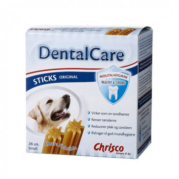 Chrisco DentalCare Sticks Original, 28 stk./440 g ℮, Small