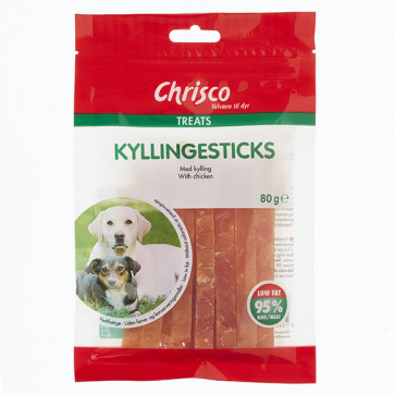 Chrisco Kyllingesticks, 80 g ℮