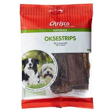 Chrisco Oksestrips, 100 g