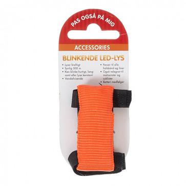 Chrisco LED-hundelygte til halsbånd og liner