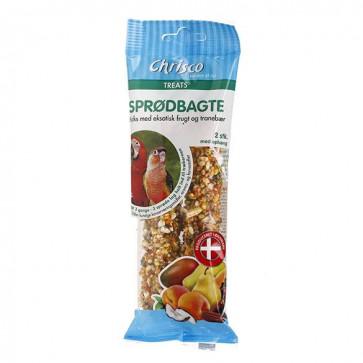 Chrisco Sprødbagte med eksotisk frugt og tranebær, 2 stk./112 g ℮