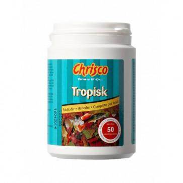 Chrisco Tropisk fuldfoder, 50 g ℮