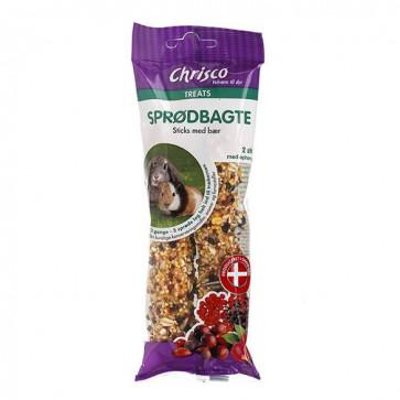 Chrisco Sprødbagte med bær, 2 stk./112 g ℮