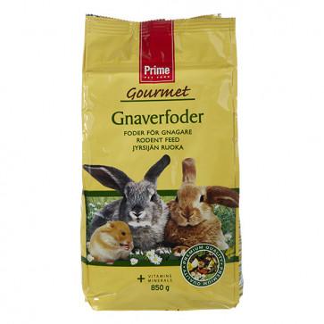 Prime Gourmet Kanin- og Gnaverfoder, 850 g