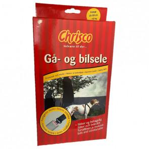 Chrisco Gå- og bilsele, 25-120 cm
