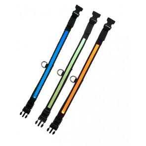 Chrisco LED-hundehalsbånd, 2x5 x 51-60 cm