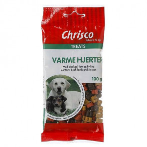 Chrisco Varme hjerter, 100 g ℮