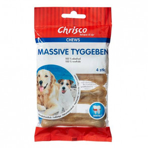 Chrisco Massive tyggeben, 4 stk.