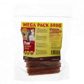 Paw Chicken Sticks, 500 g ℮ MEGA PACK