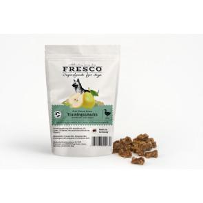 Fresco Training Mini Bones Duck with Pears and Lentils - Træningsgodbidder med and, pærer og linser, 150 g ℮