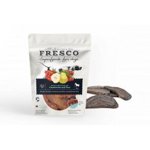 Fresco Horse Treats with Cranberries and Pear - hestegodbidder med tranebær og pære, 100 g ℮