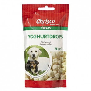 Chrisco Yoghurtdrops, 75 g ℮