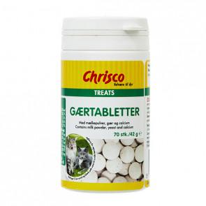 Chrisco Gærtabletter, 70 stk./42 g ℮