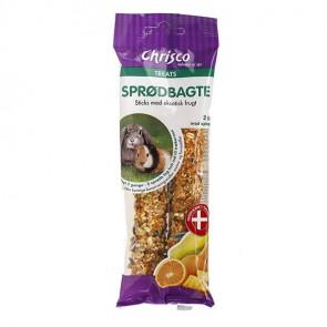 Chrisco Sprødbagte med eksotisk frugt, 2 stk./112 g ℮