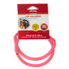 Chrisco LED-halsring i pink, 70 cm