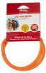 Chrisco LED-halsring i orange, 70 cm
